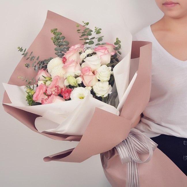 Фото красивых букетов цветов упаковка